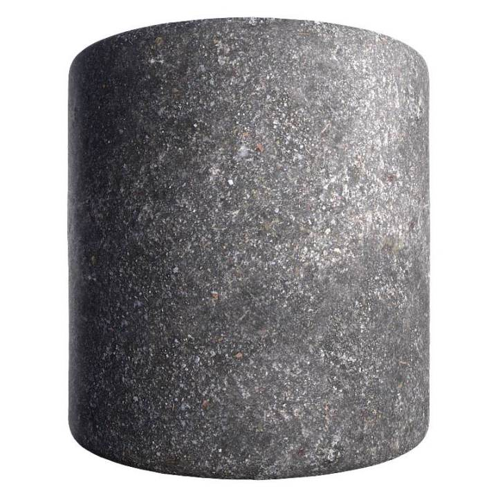 Preview render of the PBR texture Asphalt 02