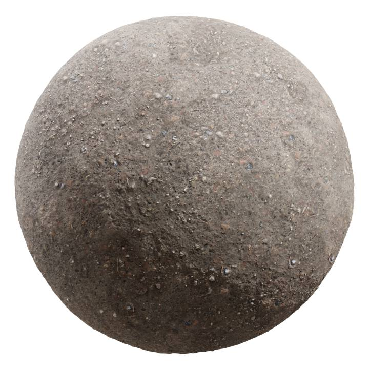 Preview render of the PBR texture Dirt 02