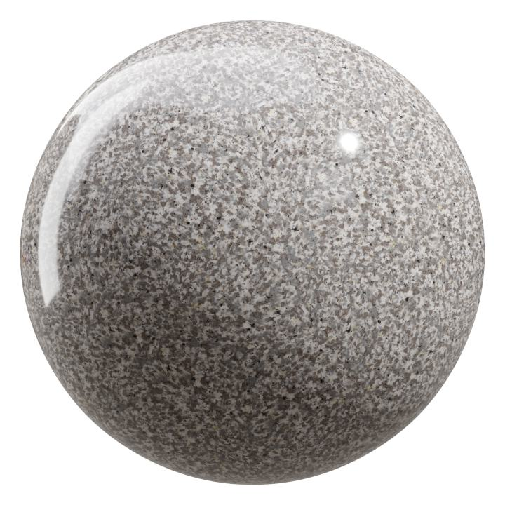 preview render of the free PBR material Granite 01 large (cc0 texture)