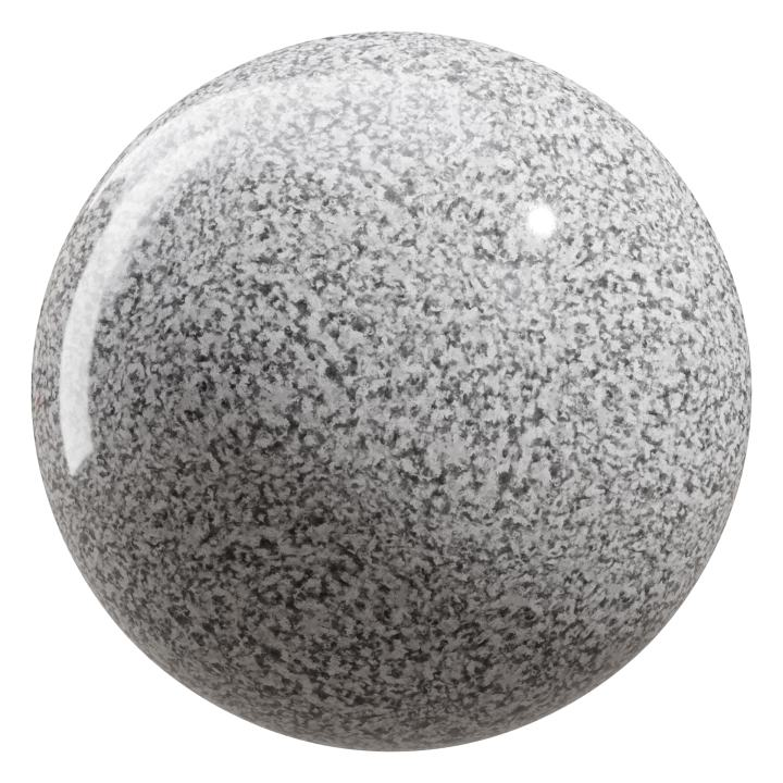 preview render of the free PBR material Granite 03 large (cc0 texture)