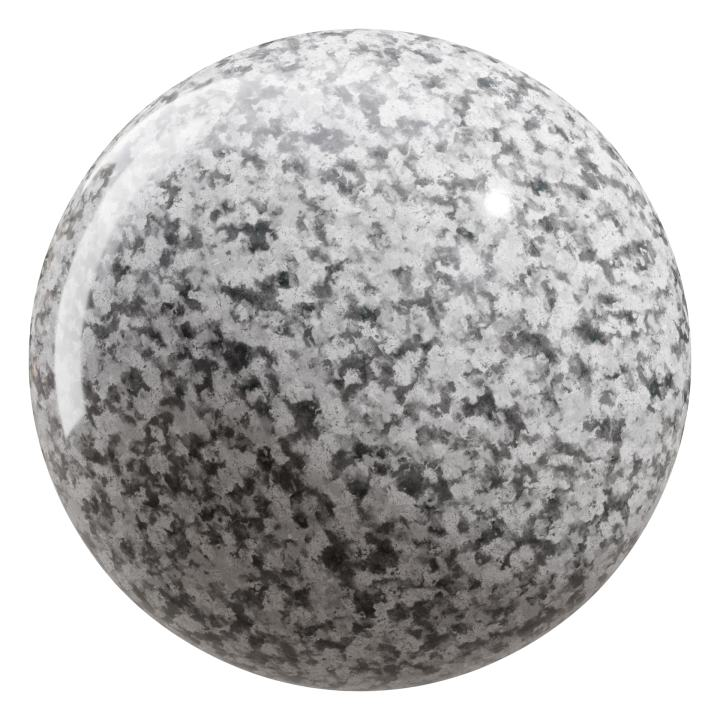 preview render of the free PBR material Granite 03 small (cc0 texture)