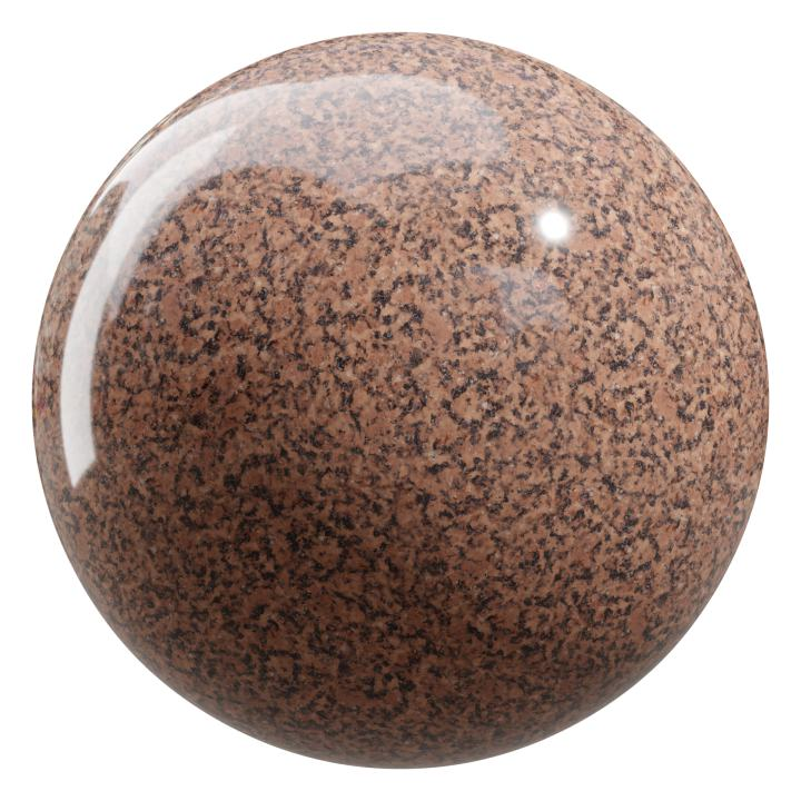 preview render of the free PBR material Granite 05 large (cc0 texture)