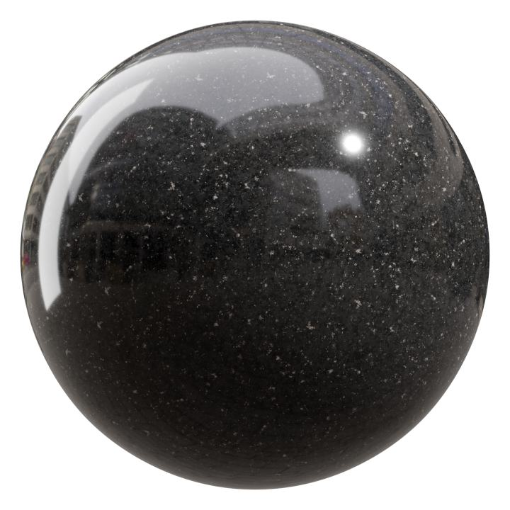 preview render of the free PBR material Granite 07 large (cc0 texture)