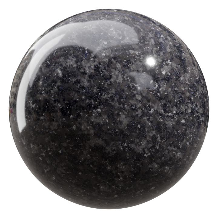 preview render of the free PBR material Granite 08 small (cc0 texture)