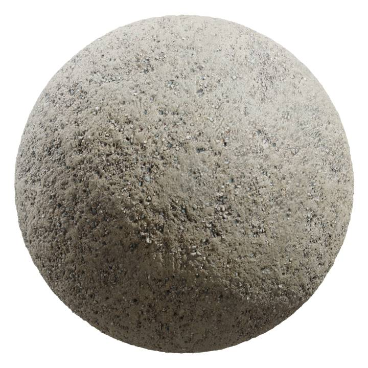 Preview render of the PBR texture Gravel 01