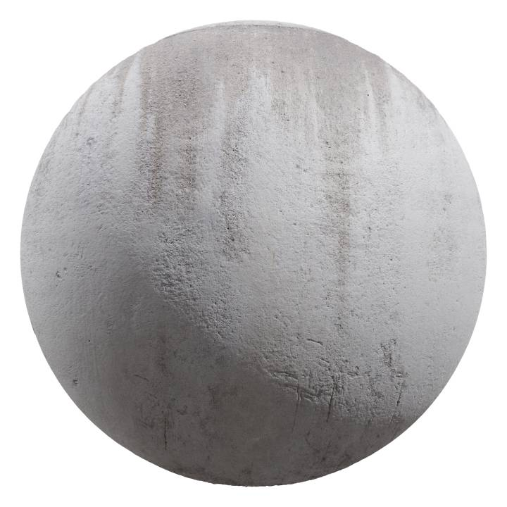 Preview render of the PBR texture Grunge Wall 01