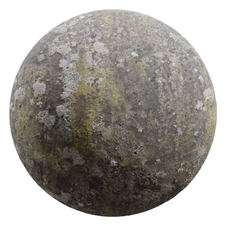 Preview render of the PBR texture Grunge Wall 03