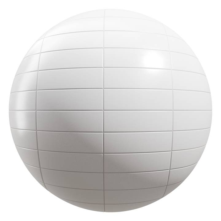 preview render of the free PBR material Long Tiles 02 (cc0 texture)