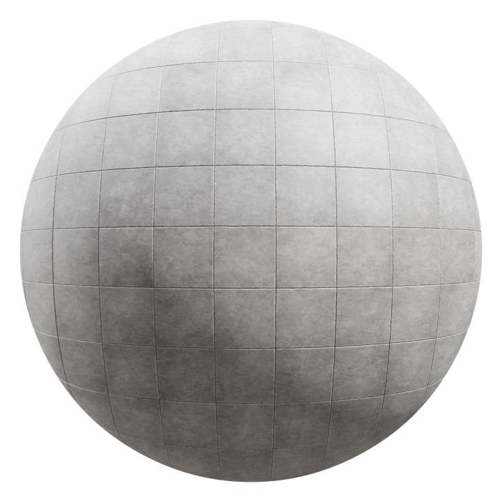 Preview render of the PBR texture Stone Tiles Floor 02