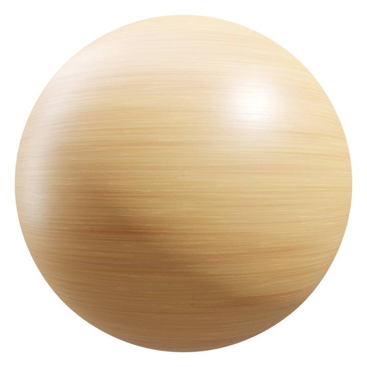 Preview render of the PBR texture Wood 06