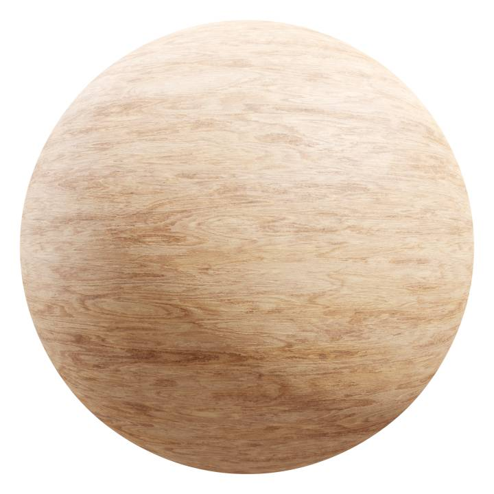 Preview render of the PBR texture Wood 08