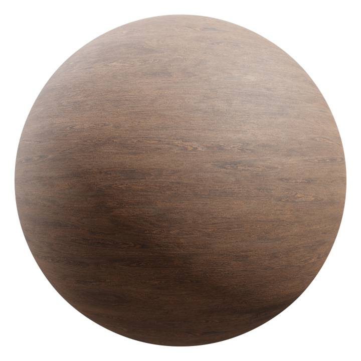 Preview render of the PBR texture Wood 10